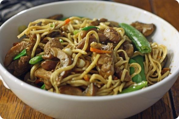 NC Asian Peanut Noodles